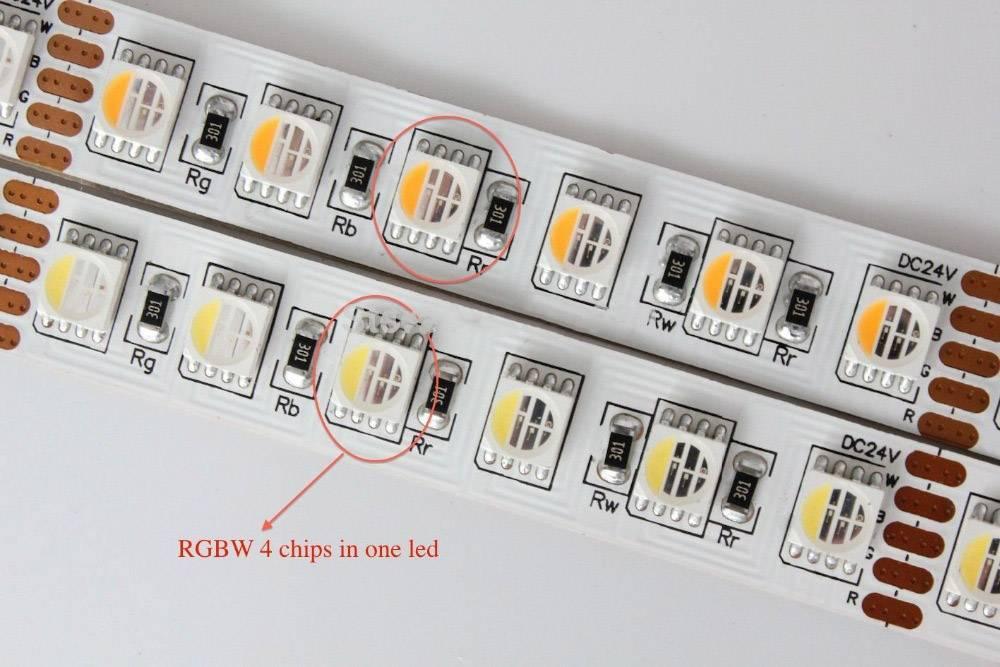 LED Strip SMD5050 RGB+WW Image