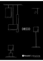 Rossini Catalogue DECO